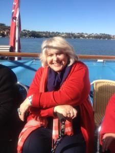 Helene Phil's b'day boat
